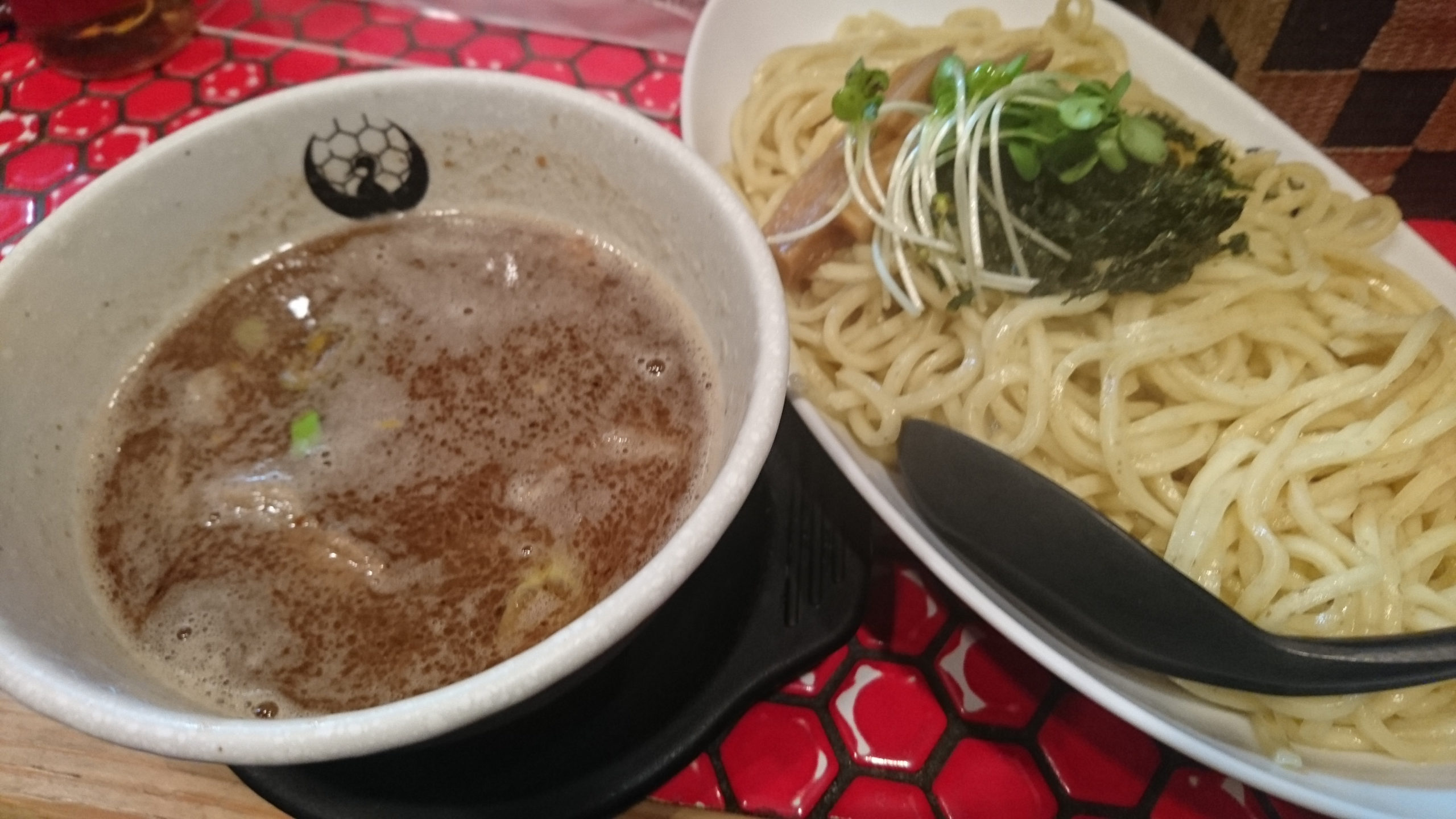 京都 つるかめのつけ麺で一人飯