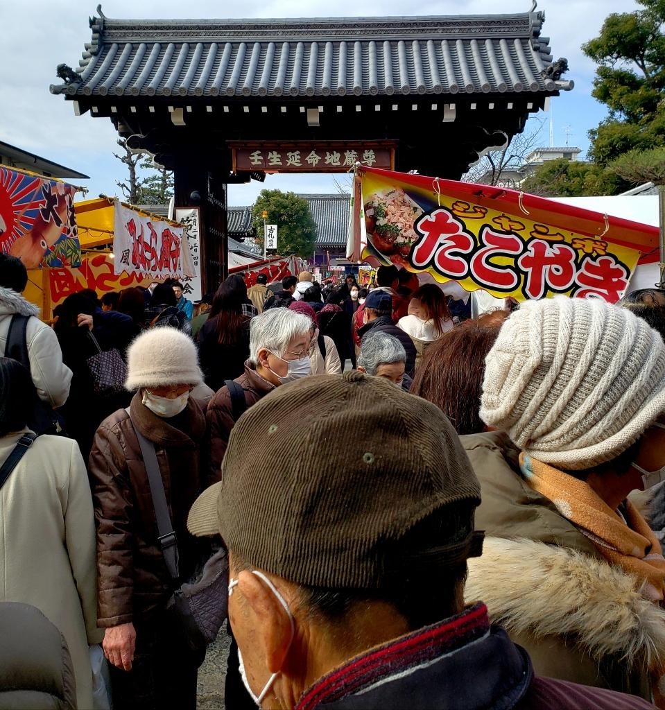 京都オススメスポット20 壬生寺と屋台グルメ
