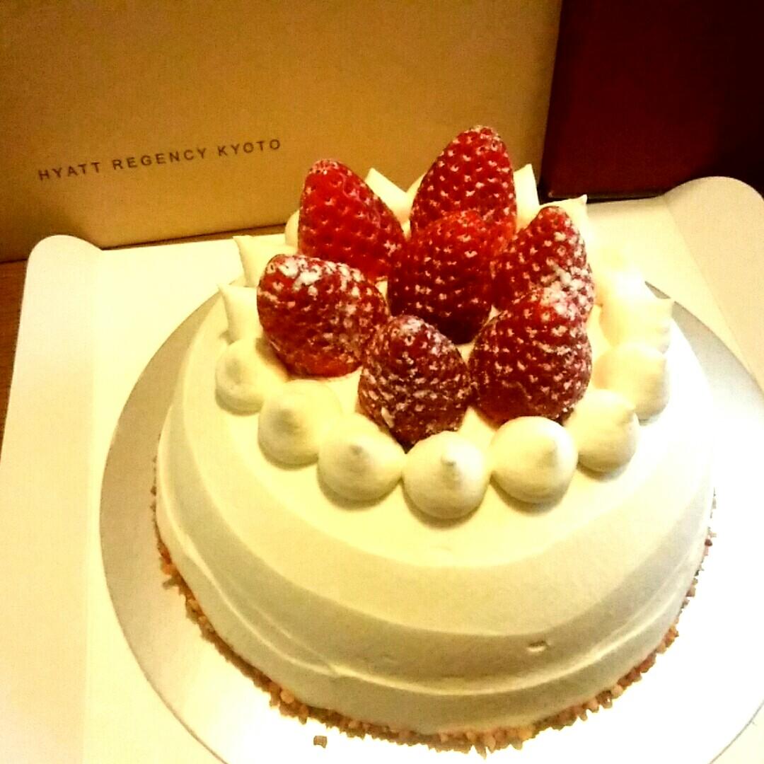 東山七条 トラットリアセッテのクリスマスケーキ