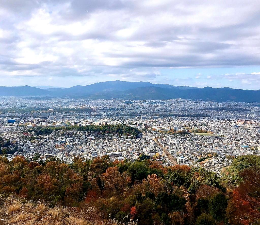 京都オススメスポット22 大文字山
