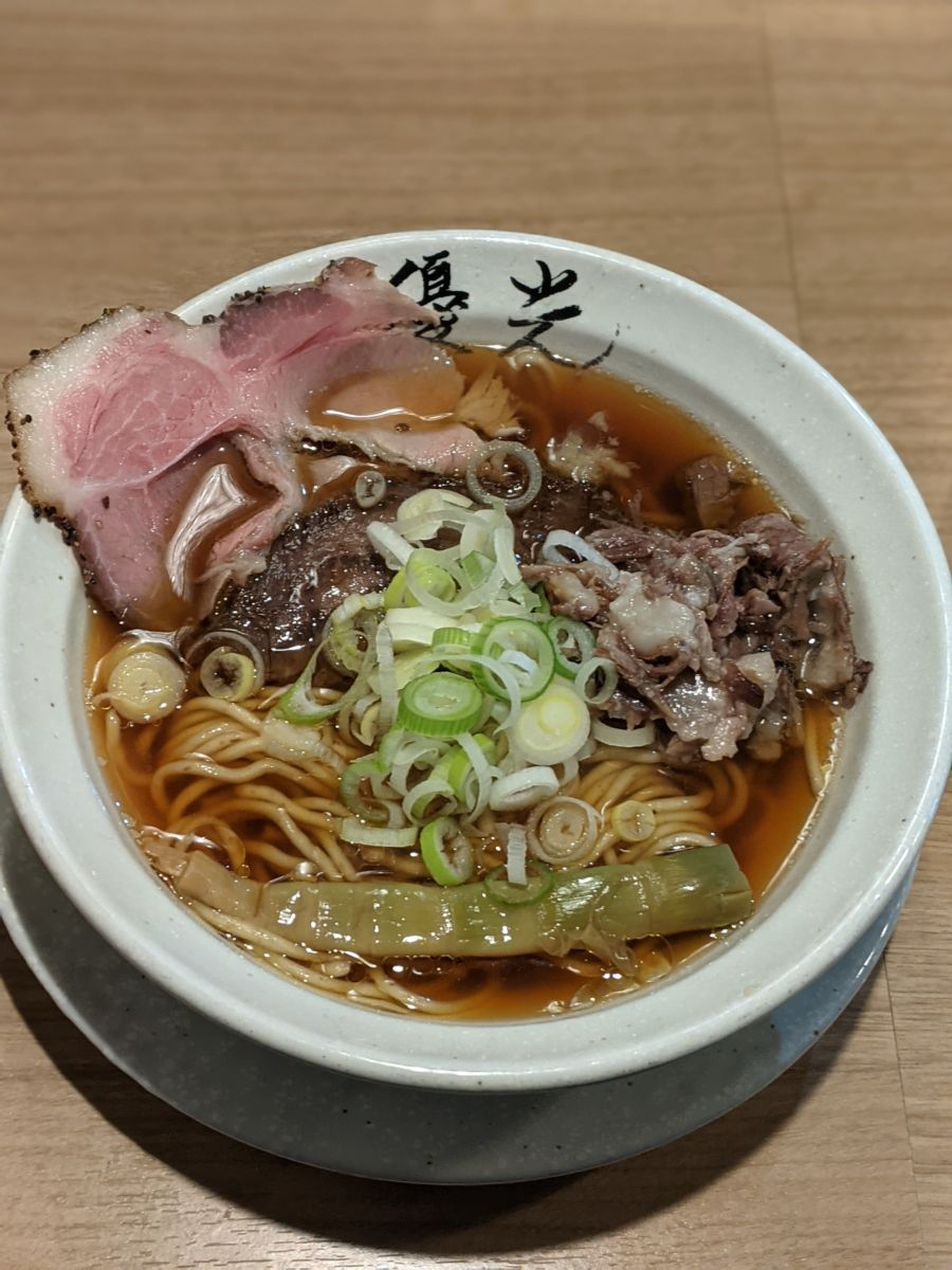 『肉料理川もり』✕『麺屋優光』★★★★☆【京都】
